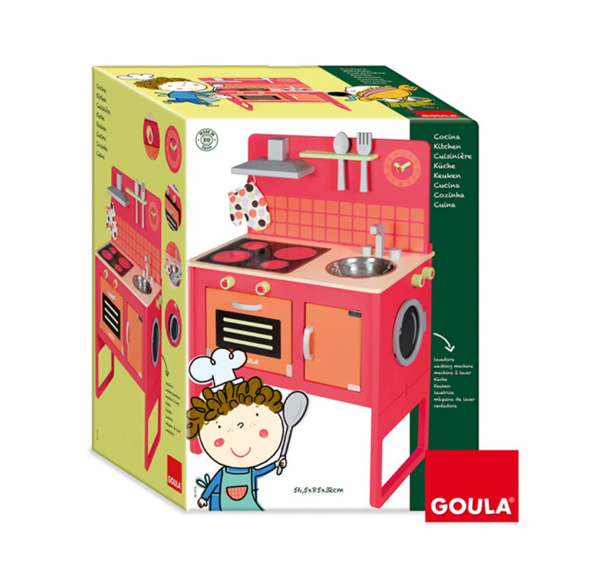 cocina-lavadora-roja-de-goula-en-el-mundo-de-mico-2