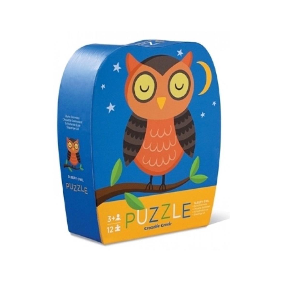 puzzle-buho-dormido-sleepy-owl-de-crocodile-creek-en-el-mundo-de-mico