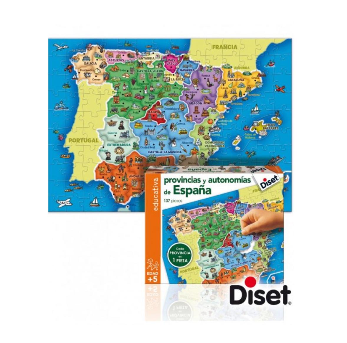 puzzle-provincias-de-españa-de-diset-en-el-mundo-de-mico