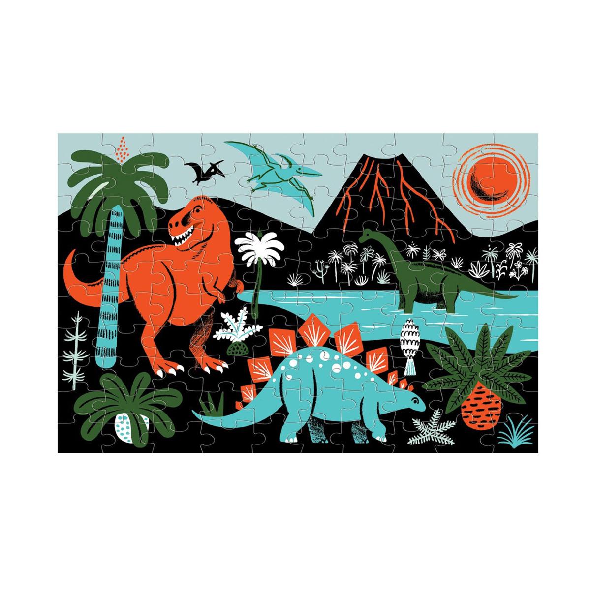 puzzle-glow-in-dark-dinosaurs-de-mudpuppy-en-el-mundo-de-mico