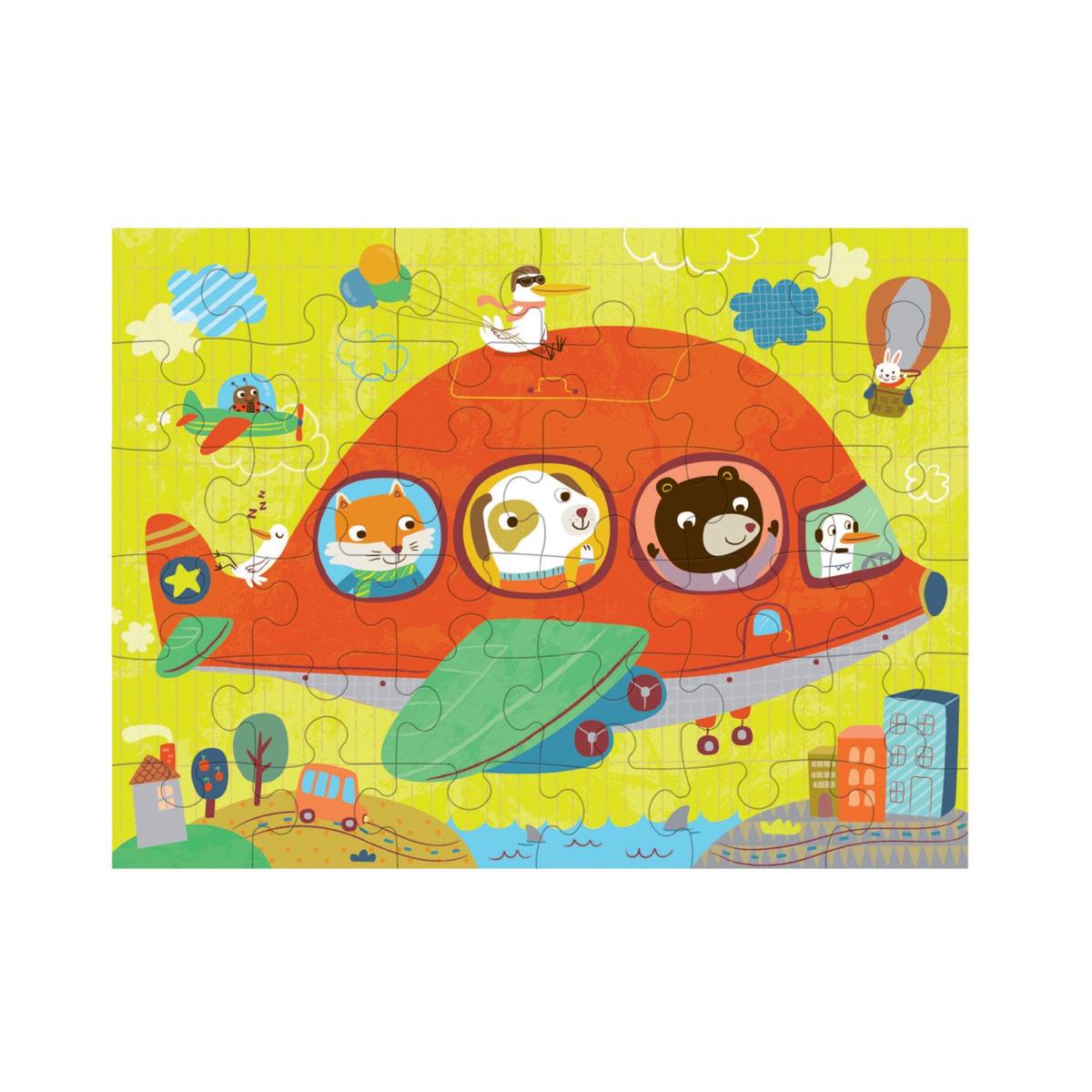 puzzle-to-go-airplane-de-mudpuppy-en-el-mundo-de-mico