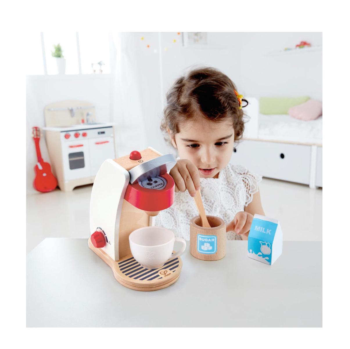 set-cafetera-para-cocinita-hape-en-el-mundo-de-mico
