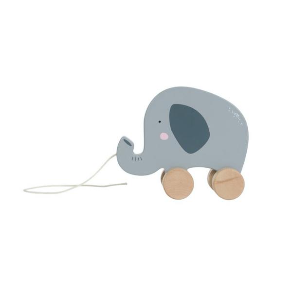 arrastre-elefante-madera-little-dutch