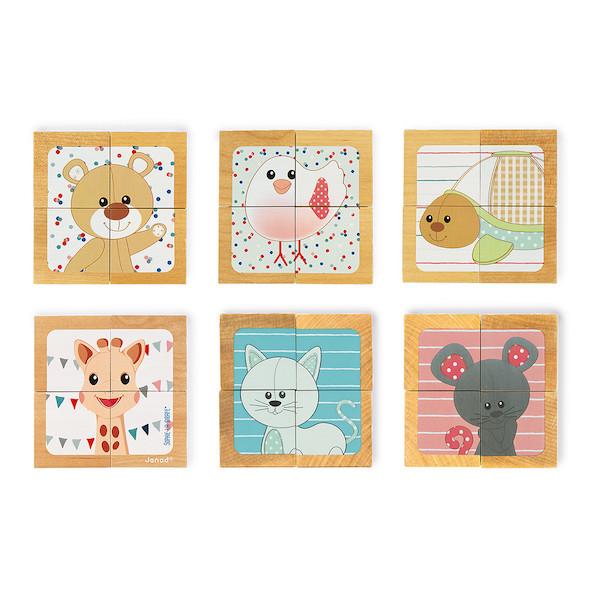 puzzle-cubos-sophie-la-girafe