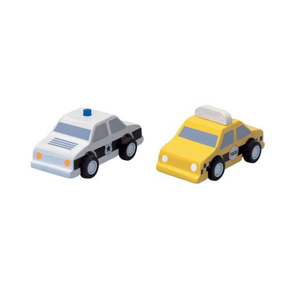 taxi-y-coche-de-policia-plantoys