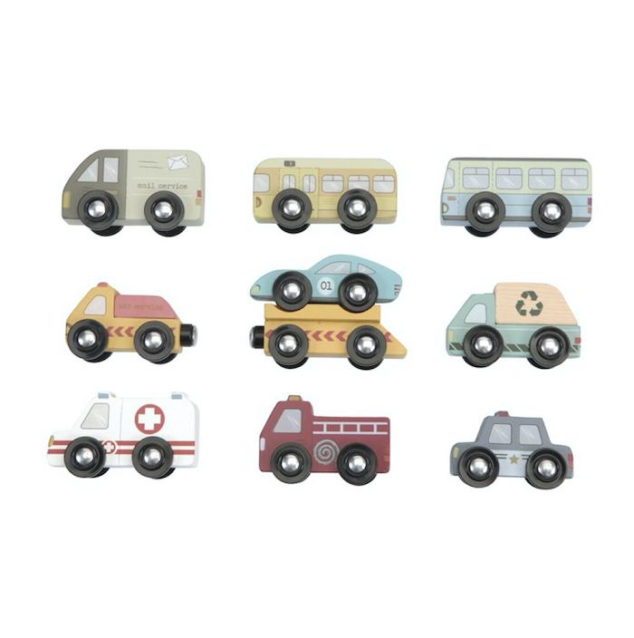 9-vehiculos-de-madera-little-dutch