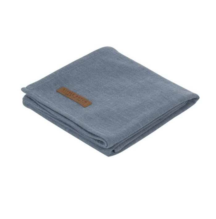 muselina-mantita-azul-little-dutch