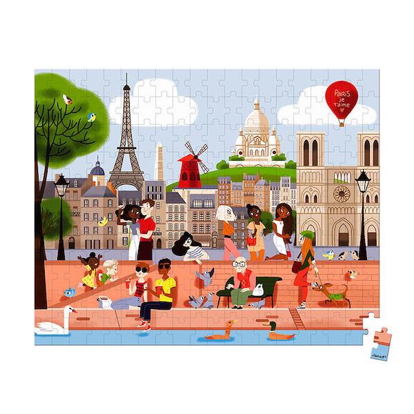 puzzle-paris-200-piezas-janod1